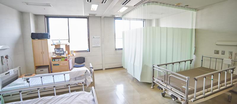 日高整形外科クリニック 病室写真